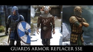 Skyrim SE Mods - Guards Armor Replacer SSE