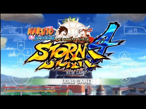 Try These Download Game Ppsspp Naruto Ultimate Ninja Storm 4