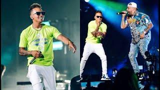 OZUNA   Amor Genuino En Vivo | TE ROBARE Junto A Nicky Jam | Miami 2019.