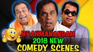 Brahmanandam 2018 New Comedy Scenes   South Indian Hindi Dubbed Best Comedy Scenes