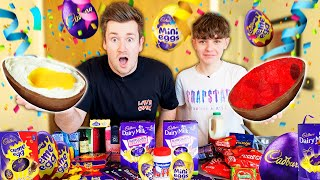 BROTHERS MAKE THE CRAZIEST DIY EASTER EGG FILLINGS