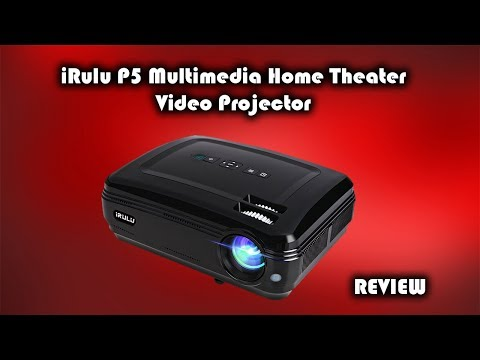 iRulu P5 Multimedia Home Theater Video Projector Review