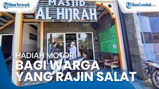 Masjid Al-Hijrah di Solo Berikan Hadiah Motor bagi Warga yang Paling Rajin Salat Berjamaah