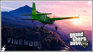 GTA V-Трюки На Самолетах #1