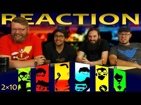 Young Justice 2x10 REACTION!!