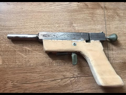 Homemade Gun: Titanium  45 Colt &  410 Over/Under Pistol