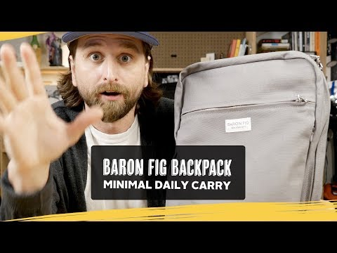 Baron Fig Backpack