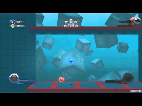 Sonic Colors Walkthrough - Part 27 - Game Land : Sonic Simulator
