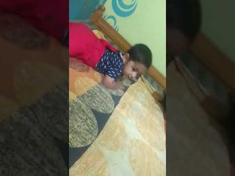 Zayed having fun with Ibrahim
