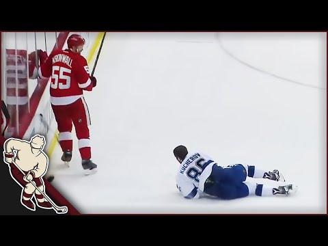 NHL: Helmets Coming Off