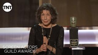 Lily Tomlin Wins Lifetime Achievement Award   23rd Annual SAG Awards   TNT