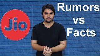 Reliance Jio का उपयोग न करें !!!  Rumors vs Facts