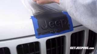 How To: Plasti Dip Emblems - GetJeeping