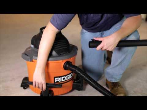 RIDGID WD0970 Wet/Dry Vac