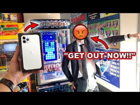MANAGER KICKS ME OUT for WINNING Apple iPhone 11 Pro from Arcade!