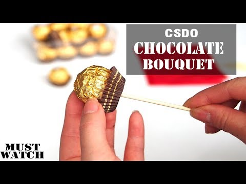 Chocolate Bouquet And Packaging Course