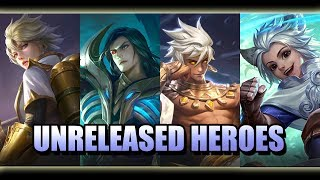 FOUR UNRELEASED HEROES AT ADVANCE SERVER MOBILE LEGENDS