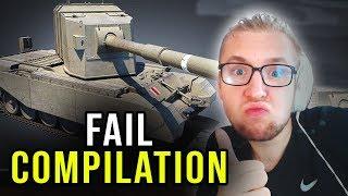 FAIL COMPILATION - World of Tanks