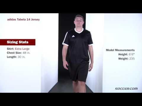 Adidas Tabela 14 Trikot macawblack