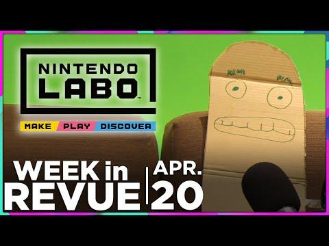 Labo & The End — WEEK IN REVUE, Apr. 20, 2018