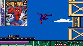 Spider Man 2: The Sinister Six (GBC)   Longplay (Game Boy Color)