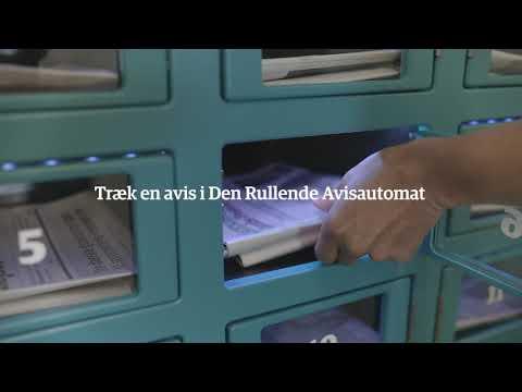 Video af Den Rullende Avisautomat