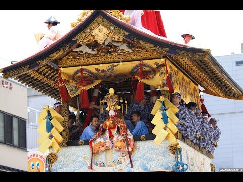 JG  京都 祇園祭り(民俗文化財) Kyoto,Gion Matsuri(Folk Cultural Property)