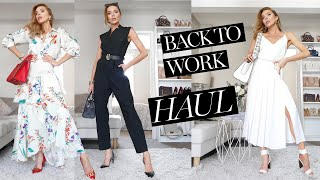 HAUL & TRYON // Back To Work Outfit Ideas // Spring Summer 2020
