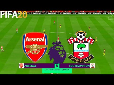 FIFA 20 | Arsenal vs Southampton - Premier League - Full Match & Gameplay