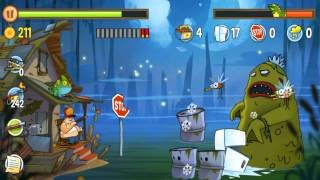 Swamp Attack Gameplay Walkthrough - Level 3-18 Boss for Android/IOS