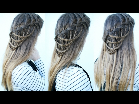 Download Cascading Waterfall Braid Waterfall Braid Hairstyles