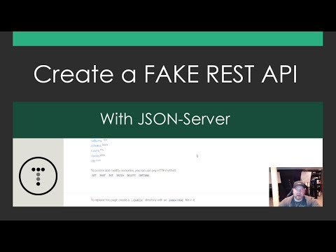 Create A Fake REST API With JSON-Server Mp3