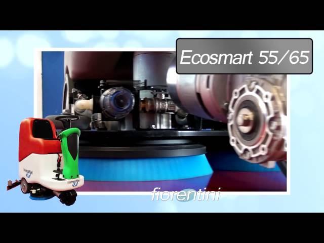 Masina de spalat si uscat pardoseli ECOSMART