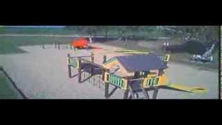 Hubsan X4 FPV - Onboard video