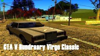 GTA V Dundreary Virgo Classic