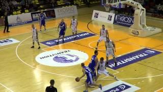 MOSiR Krosno - Rosa Radom 67:71 - 2 runda Intermarche Basket Cup