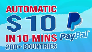 Get Paid $10 EVERY 10 MIN FREE PayPal Money: 200+ Countries WORLDWIDE! (Make Money Online)