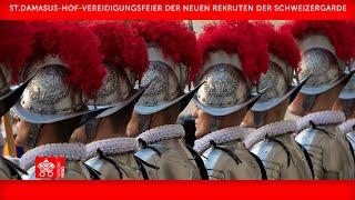 Vereidigungsfeier der Schweizergarde 06. Mai 2021