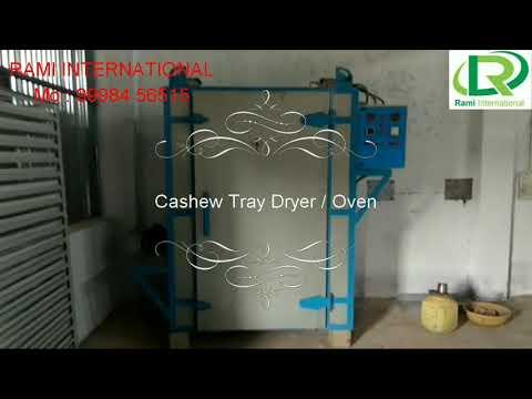 Automatic Cashew Nut Dryer