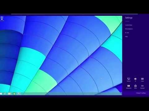 Windows 8.1 - Change PC Settings Won't Open Fix (EASY)