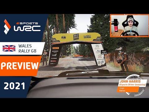 E-sports WRC2021 WALES ラリーGB プレビュー動画