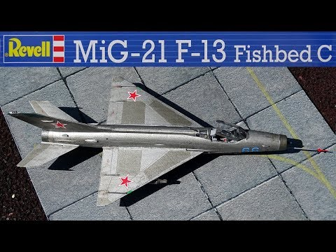 REVELL MiG-21 Fishbed 1/72 [Build Review]
