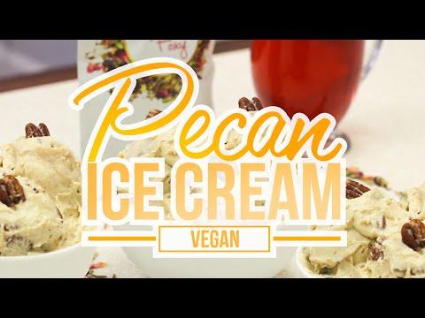 Video Vegan Paleo Pecan Ice Cream