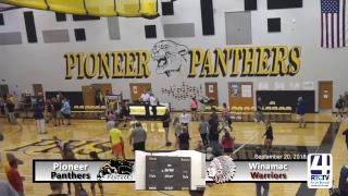 Pioneer Volleyball vs Winamac