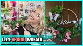 D.I.Y. Spring Wreath  - Ghirlanda Primaverile Fai Da Te