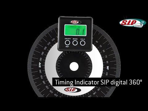 Zündung einstellen Vespa & Lambretta mit SIP Gradscheibe und SIP digitalem Gradmesser 360°
