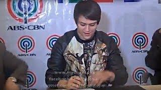 MyCHOS presents Enrique Gil at contract signing