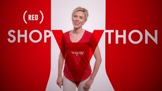 Scarlett Johansson, Barry Manilow & Jimmy Kimmel star in the (RED) SHOPATHON Holiday Jingle