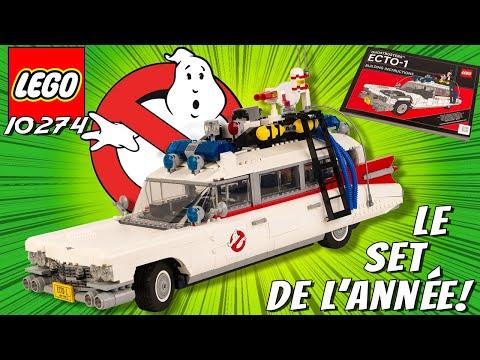 Vidéo LEGO Ghostbusters 10274 : ECTO-1 SOS Fantômes