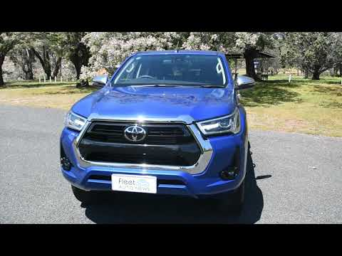 2020 Toyota Hilux SR5 - We take it off-road